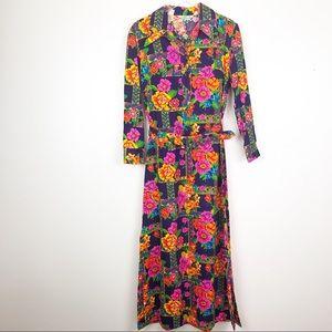 VINTAGE l Lady Bayard Floral Dress
